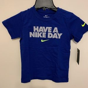 Nike Kids Have a Nike Day Tshirt Size MD